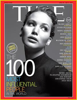 Jennifer Lawrence entre as pessoas mais influentes