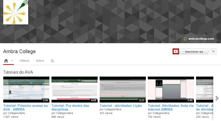 youtube ambra colllege