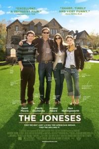Família Joneses, grandes influenciados de consumo em sua comunidade.