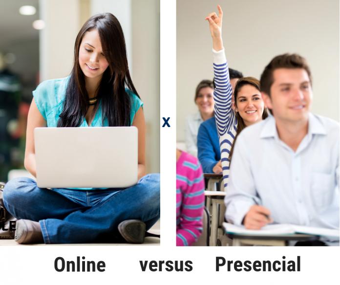 Educação presencial ou online?